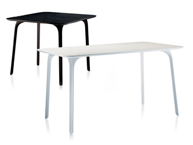 La chaise chair first et la table table first par for Magis table first